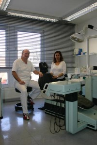 behandlungsraum 1 Dr. Hesse Köln