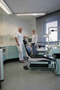 Behandlungsraum 2 Dr. Hesse Köln